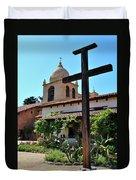 California Spanish Mission Duvet Cover