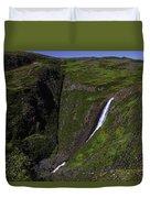 California Spring Falls Duvet Cover
