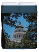 California State Capital Duvet Cover