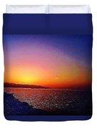 California Sunset 4.2008 Duvet Cover