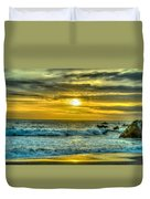 California Sunset Duvet Cover