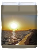 California Sunset Duvet Cover by Ernie Echols