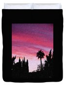California Sunset Painting 2 Duvet Cover
