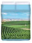 California Vineyards 1 Duvet Cover