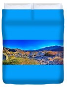 California Wilderness Panorama Duvet Cover
