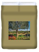 California Wine Country Duvet Cover
