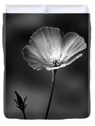 Californian Poppy Duvet Cover