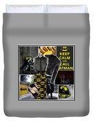 Call Batman Duvet Cover