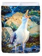 Call Of The Gull Duvet Cover