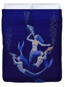Call Of The Mermaids Duvet Cover