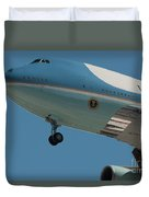 Call Sign Duvet Cover