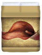 Calla Canvas Duvet Cover
