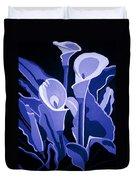 Calla Lilies Royal Duvet Cover