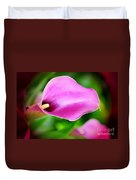 Calla Lilly Duvet Cover