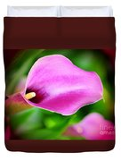Calla Lilly Duvet Cover by Kathleen Struckle