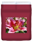 Calla Lily Art Prints Pink Lilies Flowers Baslee Troutman Duvet Cover