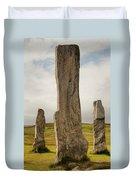 Callanish Standing Stones Duvet Cover