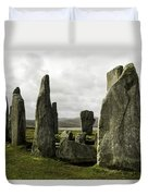 Callanish Stones Duvet Cover