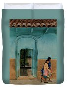 Calle Hermanos Dominquez Duvet Cover