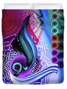 Calligraphy 109 4 Duvet Cover