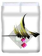 Calligraphy 22 2 Duvet Cover