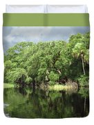 Calm River Reflections Duvet Cover