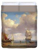 Calm Sea Duvet Cover by Adolf Vollmer