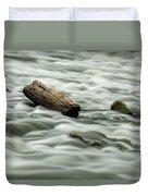 Calming Rapids  Duvet Cover