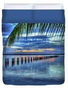 Caloosahatchee Evening Duvet Cover