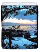 Caloosahatchee Mangroves Duvet Cover