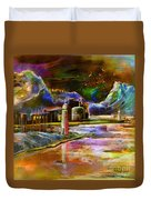 Calpe 02 Spain Duvet Cover