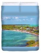 Calusa Beach Duvet Cover