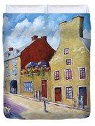 Calvet House Old Montreal Duvet Cover