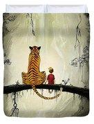 Calvin And Hobbes Duvet Cover