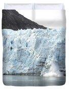 Calving Glacier Duvet Cover