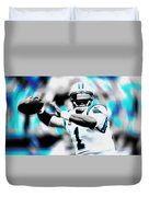 Cam Newton Letting It Fly Duvet Cover