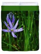 Camas Lily Duvet Cover