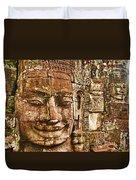Cambodia Faces  Duvet Cover