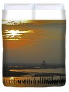 Cambodian Sunsets 1 Duvet Cover