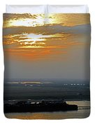 Cambodian Sunsets 2 Duvet Cover