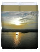 Cambodian Sunsets 3 Duvet Cover