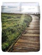 Cambria Boardwald Duvet Cover