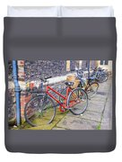 Cambridge Bikes 1 Duvet Cover