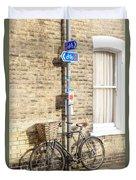 Cambridge Bikes 5 Duvet Cover