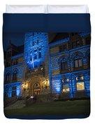 Cambridge City Hall Cambridge Ma Duvet Cover