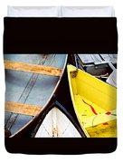 Camden Dories Photo Duvet Cover