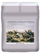 Camel Express, 1857 Duvet Cover