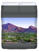 Camelback Mountain, Phoenix, Arizona Duvet Cover