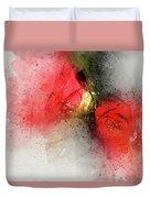 Camellia Burst Duvet Cover