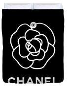 Camellia Chanel Duvet Cover